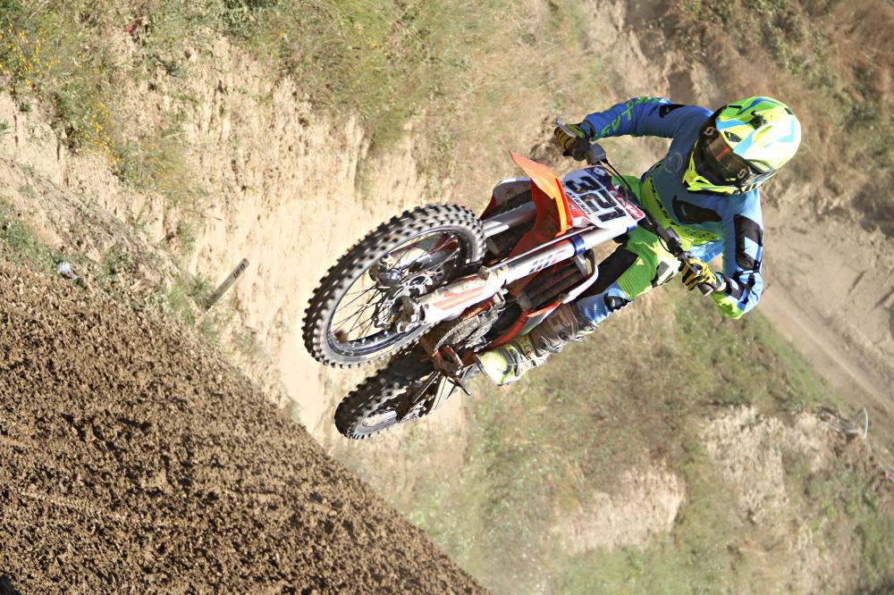 Alessandro Traversini in volo