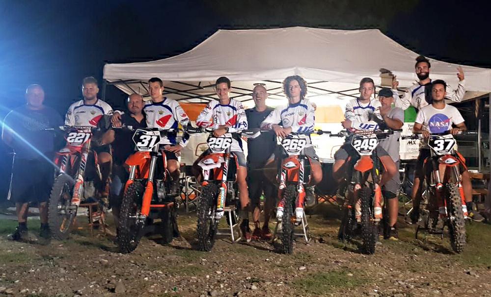 Foto di gruppo dal crossdromo Santa Rita lo scorso 22 settembre