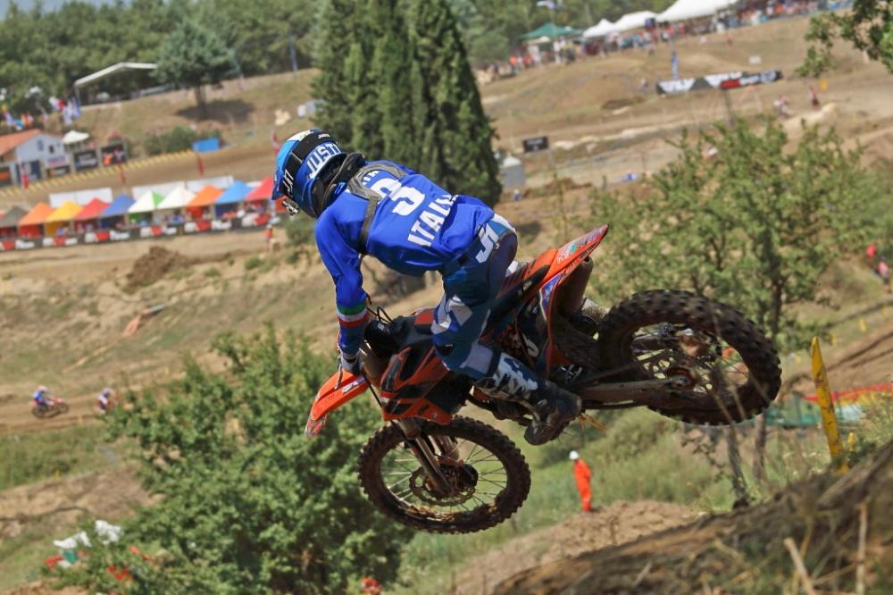 Valerio Lata in Grecia durante la gara _(ph MXGP)
