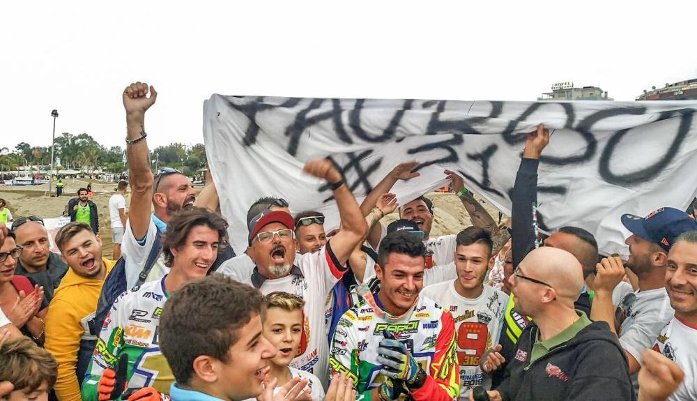 vincitori Supermarecross 2019 durante la gara di Giardini Naxos